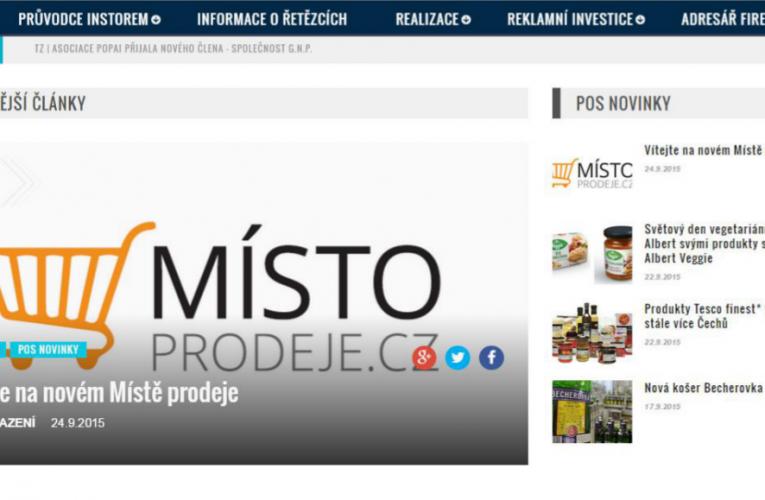 TZ   Redesign serveru Místo prodeje.cz
