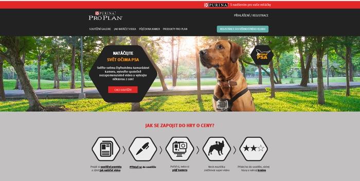 TZ | Digitální soutěž Očima psa od Newcast pro PURINU PRO PLAN