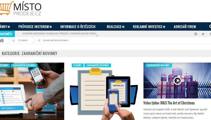 TZ | Portál Místo prodeje.cz se rozšiřuje o novou sekci Zahraniční novinky a plánuje výzkum zadavatelů