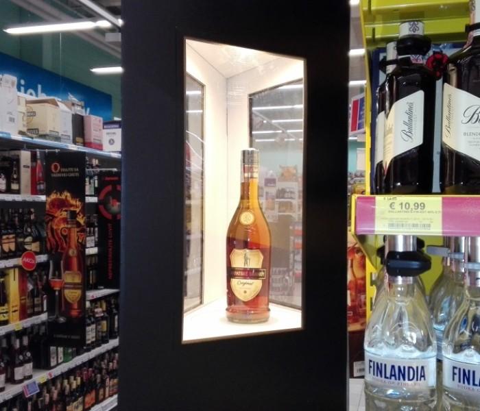 Karpatské brandy zanechalo v Tescu stopu…