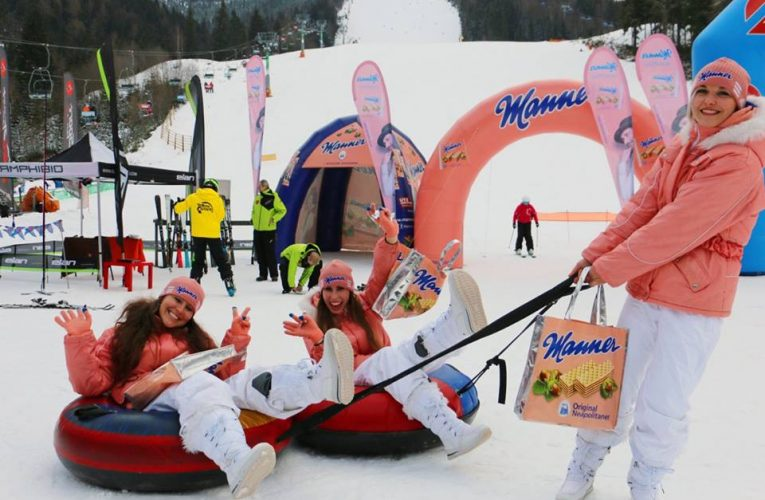 Manner Ski tour