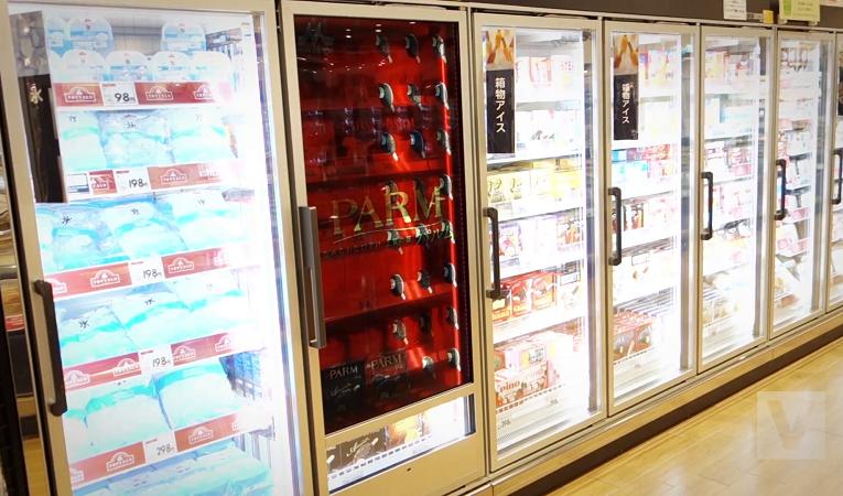 Oslovte zákazníky chladicím boxem s transparentním LCD displejem