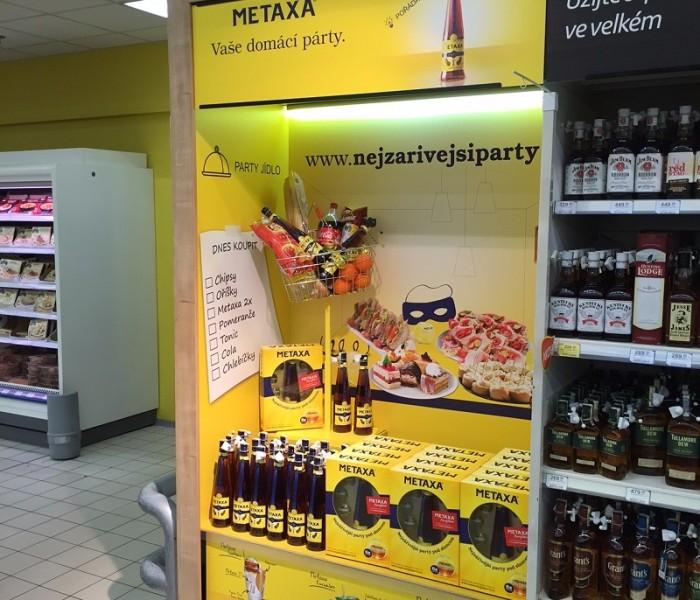 TZ | Ocenění TOP In store realizace měsíce února 2016 získala kampaň Tesco modul Metaxa