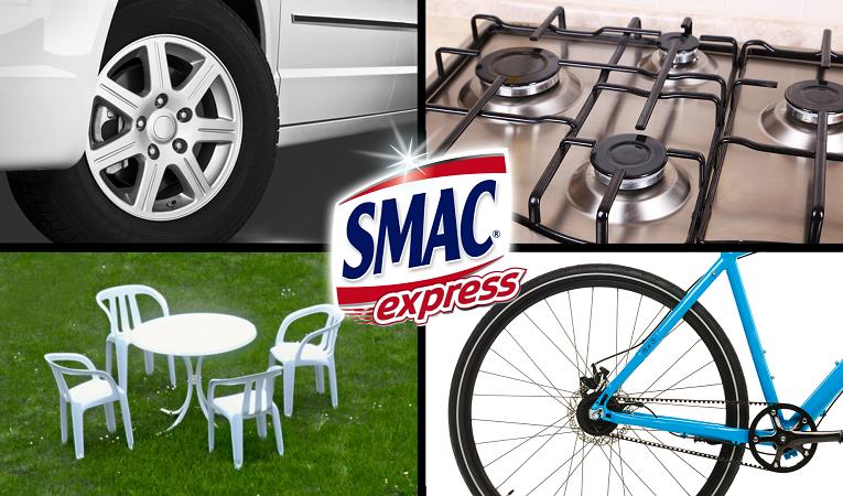 Nová značka odmašťovačů SMAC express