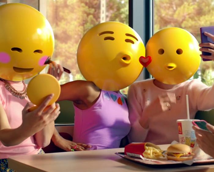 McDonalds – svět lidí neskrývající své emoce