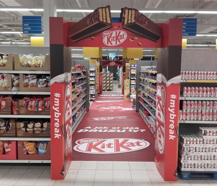 TZ |  Ocenění TOP In store realizace měsíce dubna 2016 získala kampaň KitKat