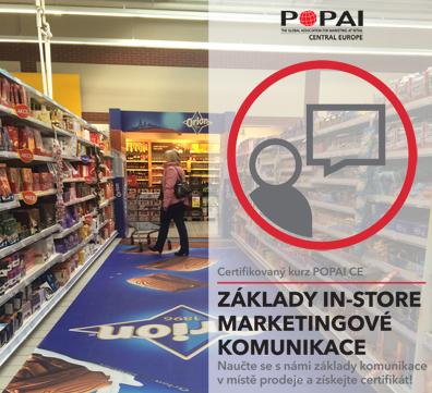 Certifikovaný kurz POPAI CE: Základy In-store marketingové komunikace, 21.6.2016