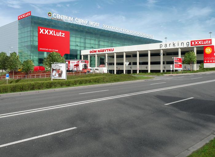 XXXLUTZ rozšíří portfolio prodejen Centra Černý Most