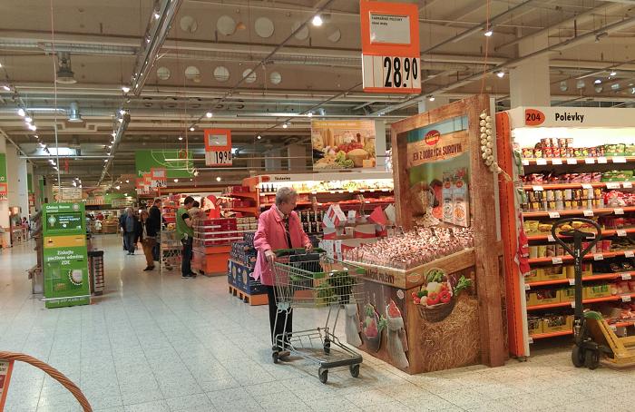 Vitana přináší farmářské tržiště přímo do hypermarketů