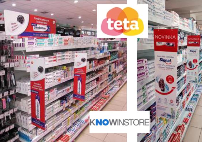 Drogerie Teta ve spolupráci s KNOWINSTORE zrealizovala v květnu první instore kampaně