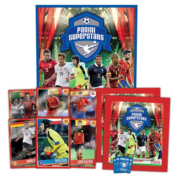 Tesco věrnostní program na motivy Mistrovství Evropy ve fotbale se rozšiřuje o sběratelskou část