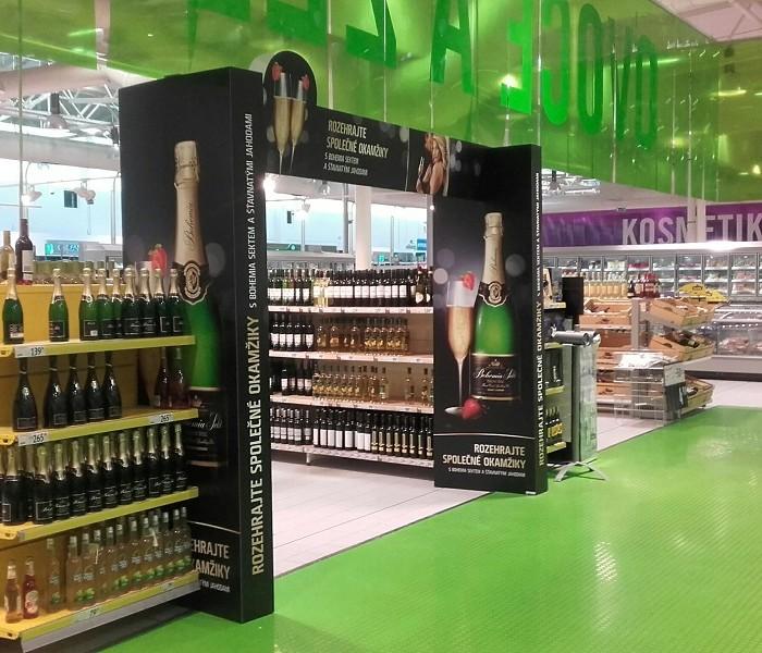 TZ | Ocenění TOP In store realizace měsíce června 2016 získala kampaň Bohemia Sekt Jahody