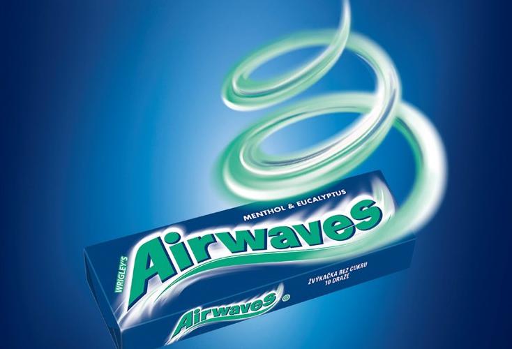Žvýkačky Airwaves v novém virálním komunikačním konceptu