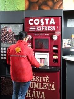 costa express a shell