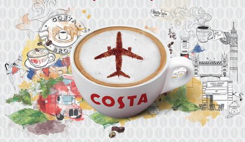Za nejvtipnější fotografii léta s Costa Express poletíte do Londýna