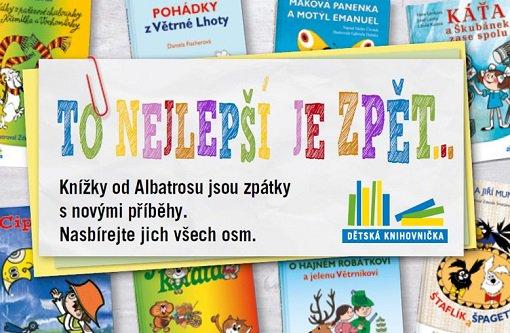 Po roce se do obchodů Albert opět vracejí oblíbené dětské knížky