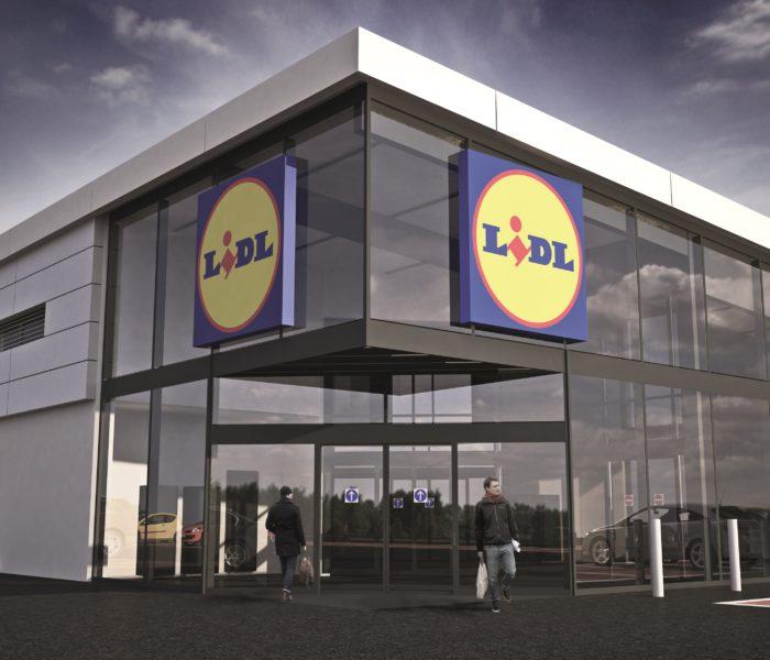 Prodejna Lidl v Ústí nad Labem prochází modernizací