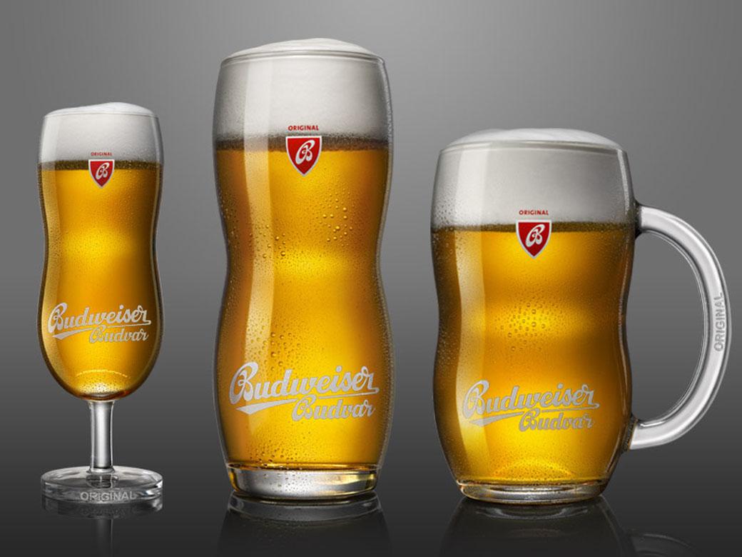 Budweiser Budvar Glass