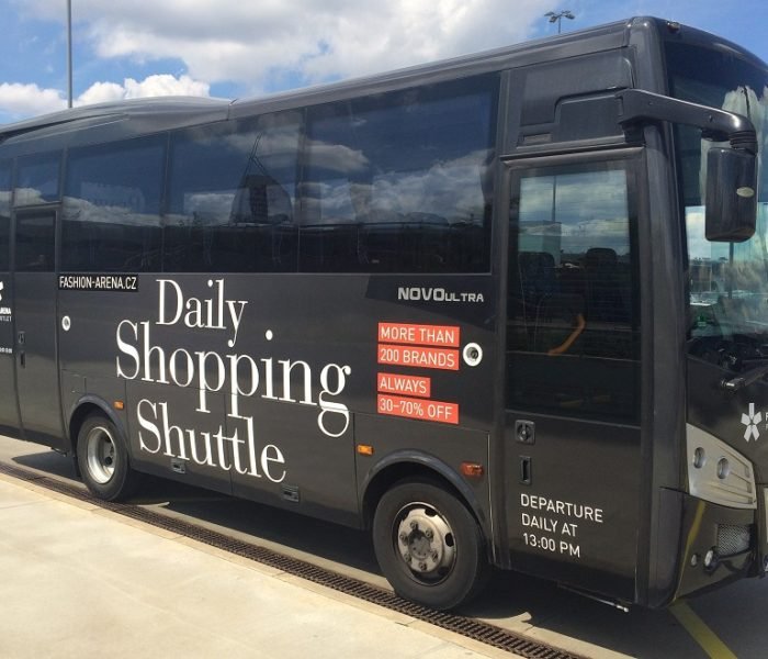 Od srpna jezdí do pražské Fashion Areny nová autobusová linka
