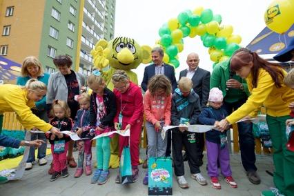Vsetinske deti otevrely Rákosníčkovo hřiště