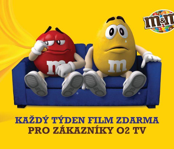 Značka M&M's vás zve na sledování filmů v TV