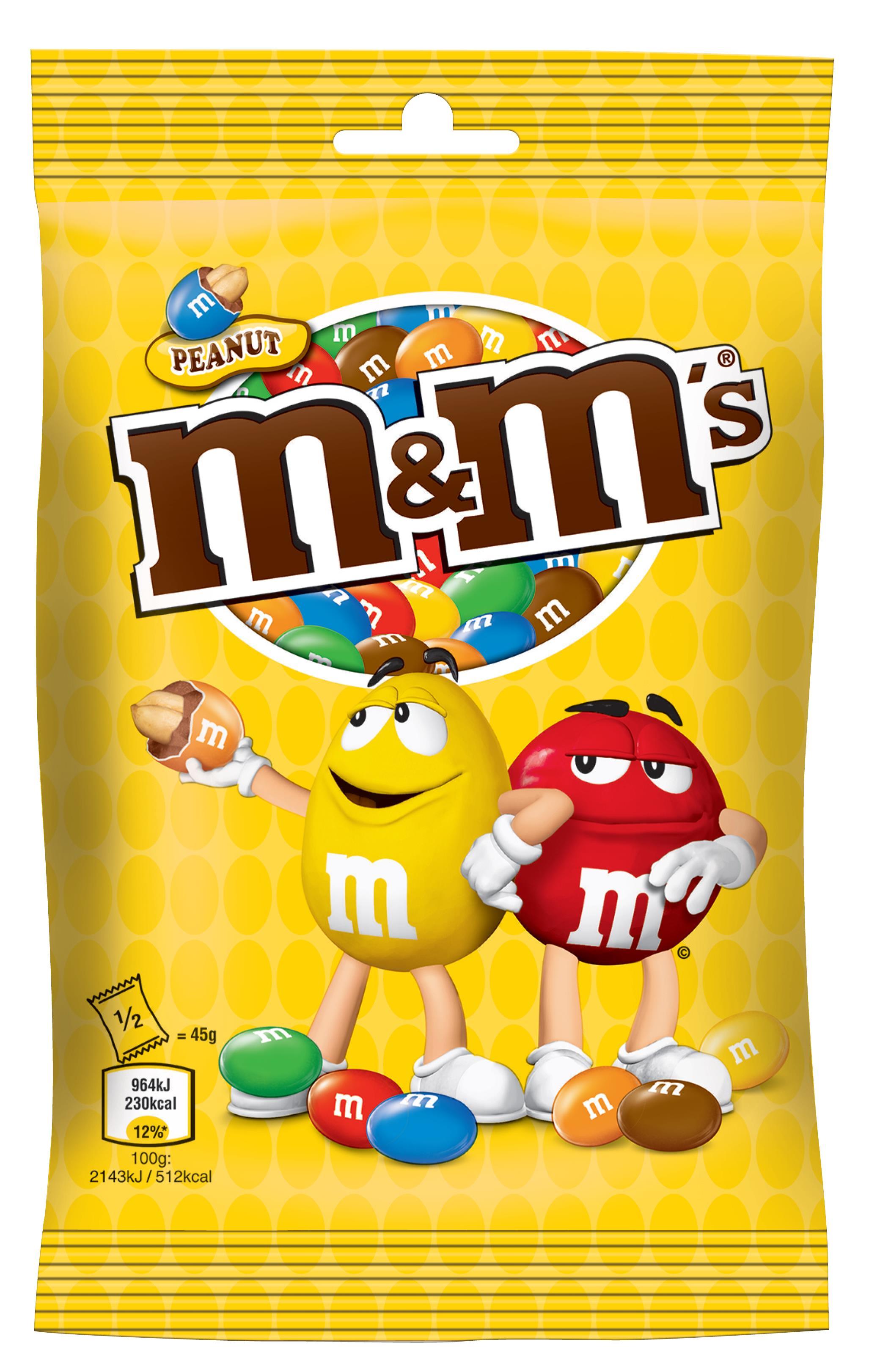 M&M's_90g_peanut_34,90 Kč