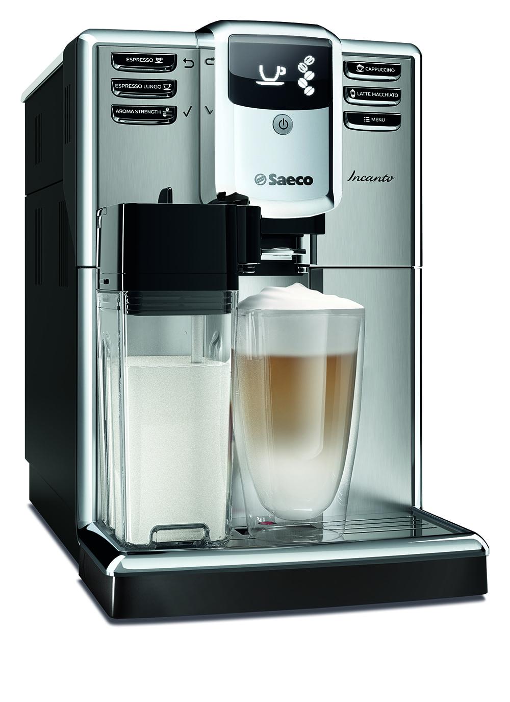 Automatický kávovar Saeco Incanto HD891809 dostupný se slevou až 50 %