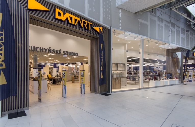 Nejmodernější prodejna Datart je nyní v Ostravě