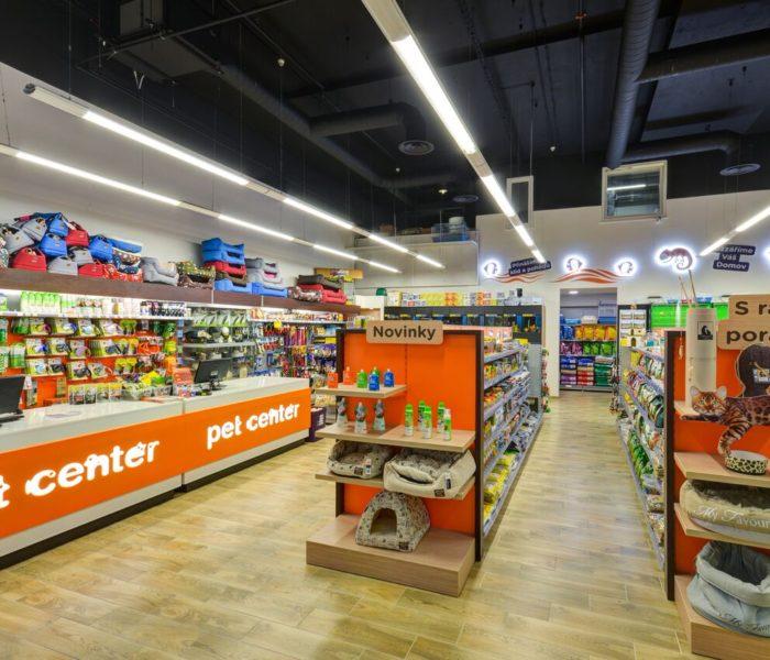 Společnost Pet Center má nový in-store design svých poboček