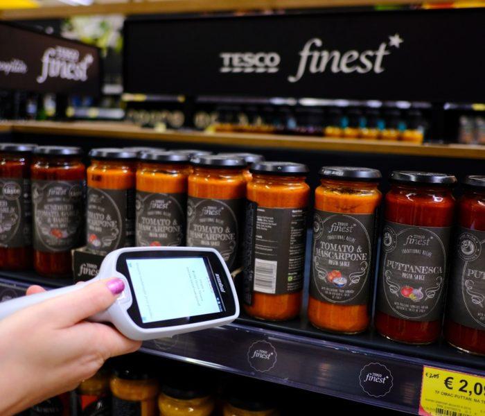 Tesco představuje novou službu Scan&Shop a Scan&Shop mobile