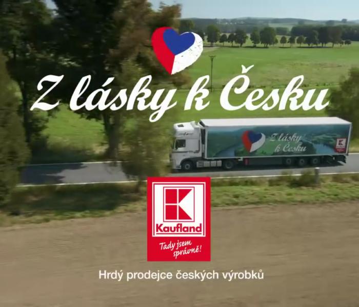 Kaufland má další dva nové spoty ke kampani Z lásky k Česku