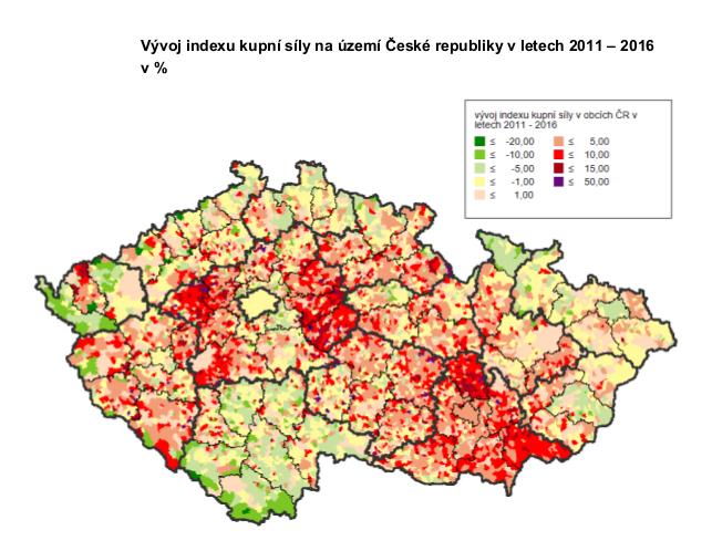 Celkový objem kupní síly obyvatel České republiky je nejvyšší za posledních 10 let