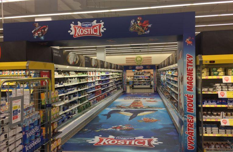 TZ   Ocenění TOP In store realizace měsíce října 2016 získala kampaň Kostíci