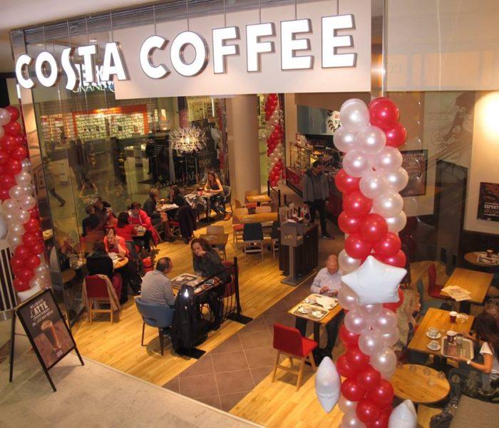 Costa Coffee se stal nejlepším kavárenským řetězcem Evropy