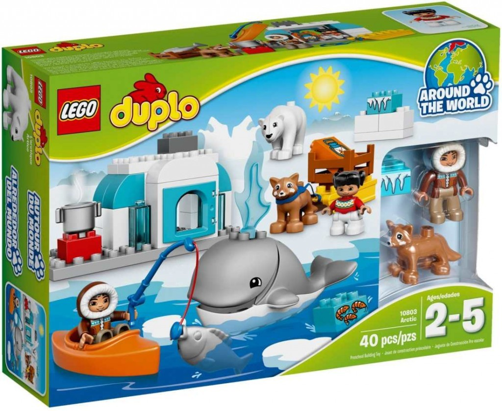 Lego Duplo Arktida k