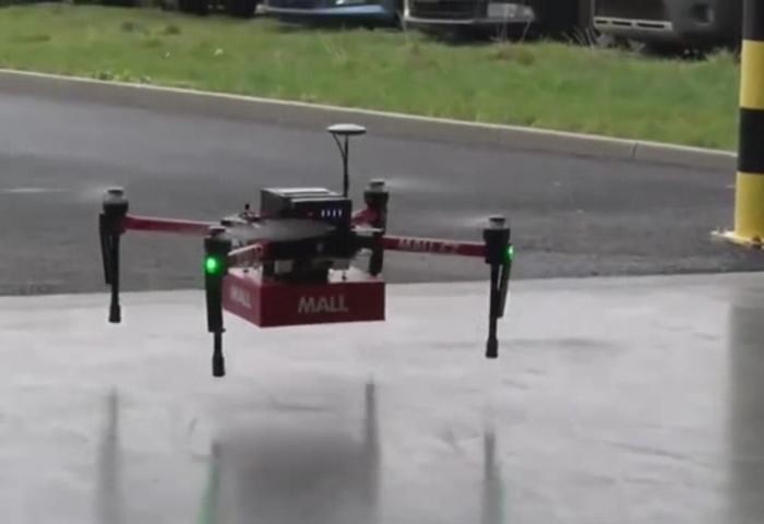 Mall.cz úspěšně otestoval doručování dronem