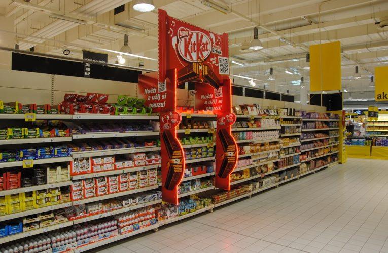 Ocenění TOP In-store realizace měsíce ledna 2017 získala kampaň KitKat