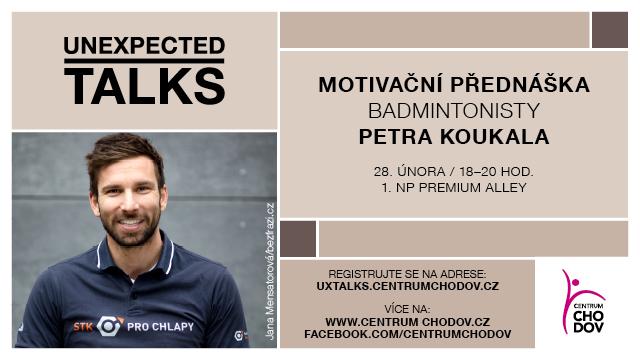 Centrum Chodov zahajuje sérii motivačních přednášek Unexpected Talks