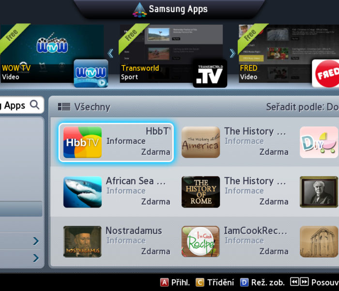 Díky hybridní televizi je ovládání chytrých funkcí televize pohodlnější, shoduje se většina uživatelů HbbTV