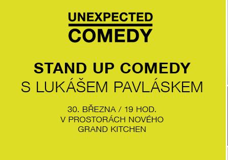 Centrum Chodov zahajuje cyklus stand-upů pod názvem Unexpected Comedy