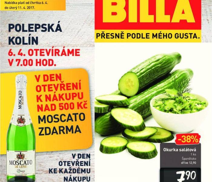 BILLA v Kolíně otevřela již čtvrtý supermarket plný kvalitních  a čerstvých potravin