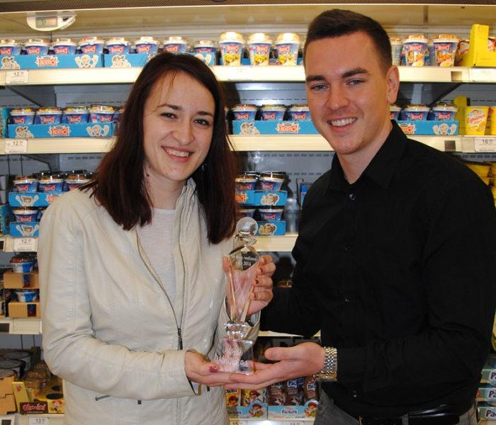 Společnost Danone převzala ocenění TOP In-store realizace roku 2016 za kampaň Kostíci