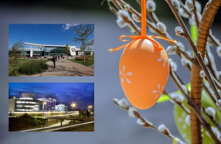 Nákupní centra Centrum Chodov a Centrum Černý Most zůstanou na Velikonoční svátky otevřena