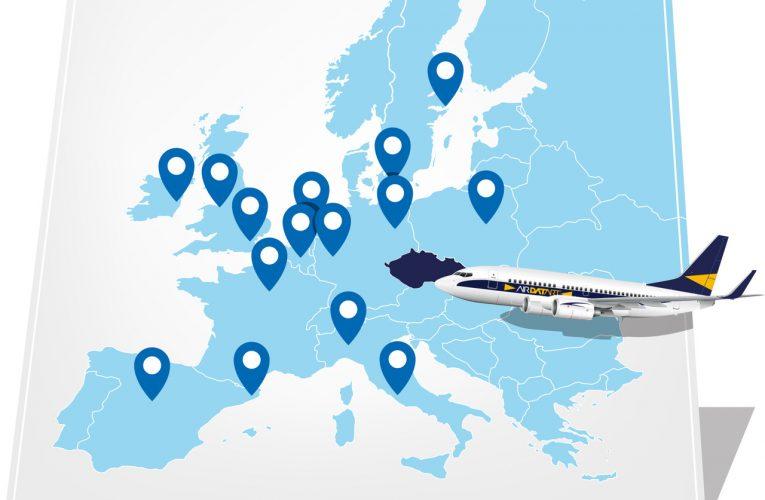 Datart rozdává zpáteční letenky v rámci kampaně Air Datart