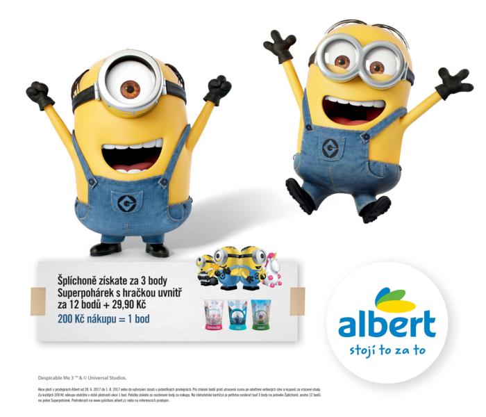 Nová věrnostní kampaň obchodů Albert dětem přináší Šplíchoně