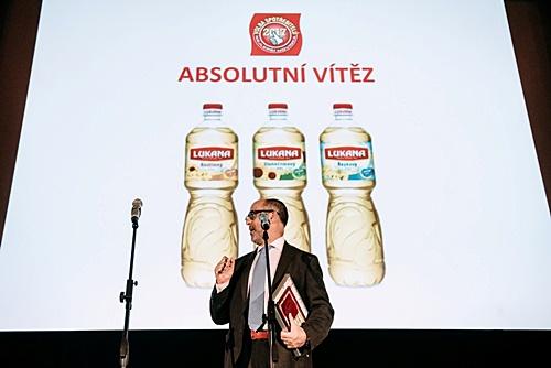 V soutěži Volby spotřebitelů 2017 se absolutním vítězem staly Oleje Lukana