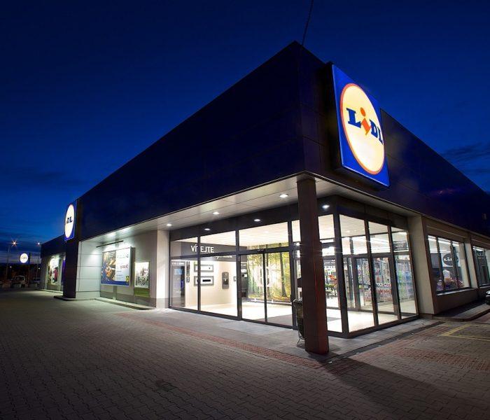 Hradecká prodejna Lidl v ulici Na Okrouhlíku získá nový interiér