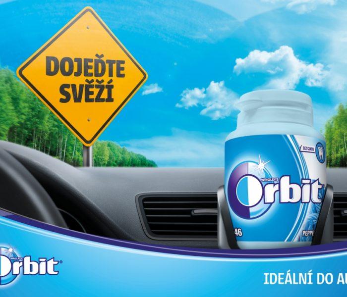 Značky žvýkaček bez cukru se v letní kampani zaměřují na řidiče a dodávají jim sebevědomí na cestě i v cíli