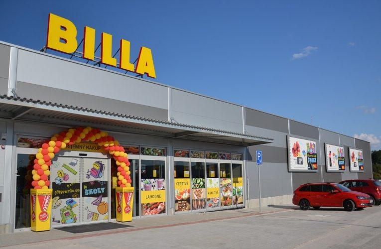 Otevírací doba supermarketů BILLA 17. listopadu 2018