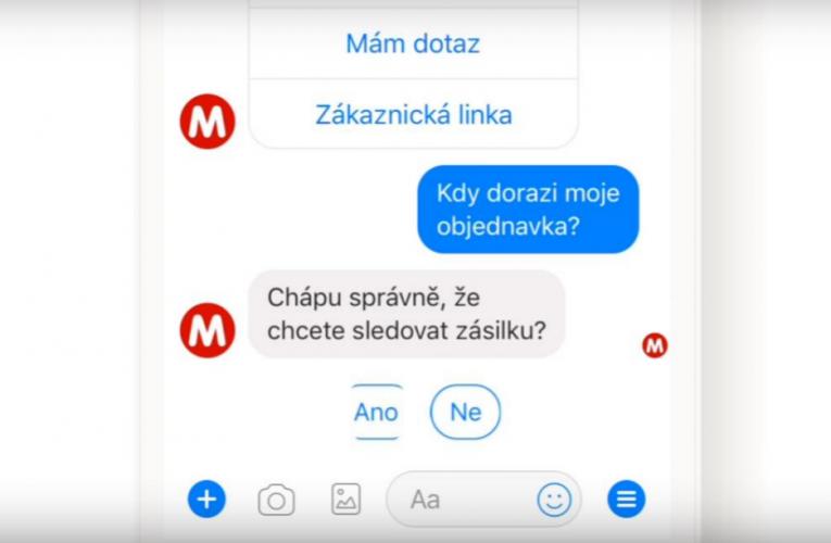 MALL.cz využívá svoji novinku – chatbot EVA